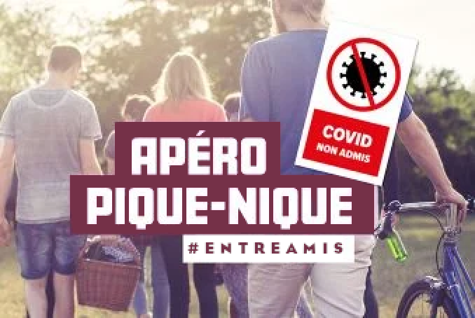 COVID-19 : #Entreamis, j'adopte les bons gestes !